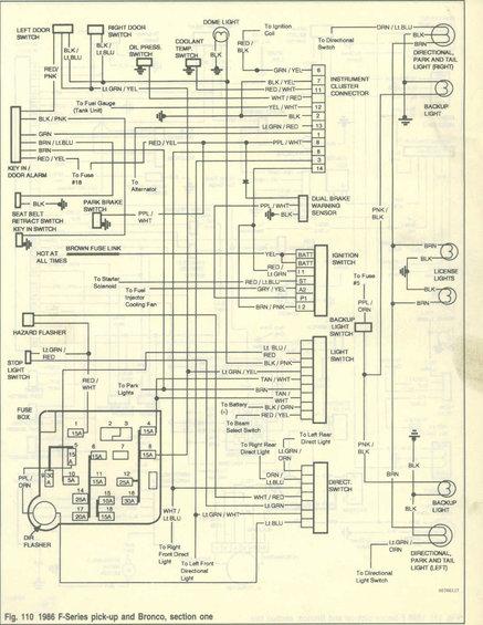 Vss 2 Wire Vehicle Sd Sensor Wiring, Ford Bronco Wiring Diagram