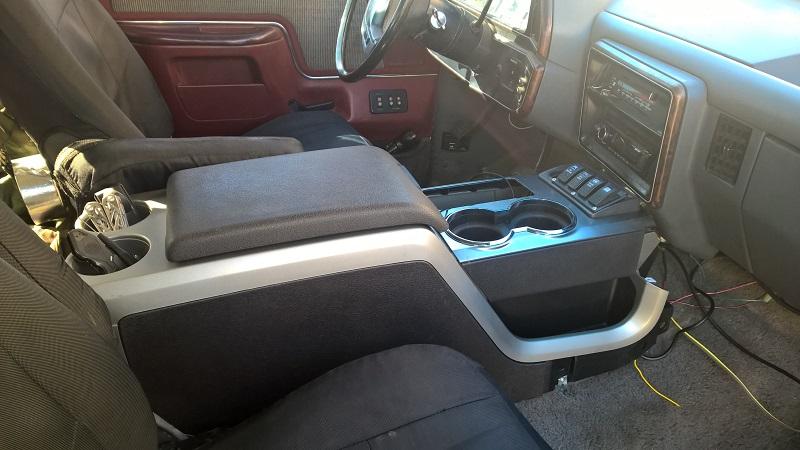 Center Console Ford Bronco Forum