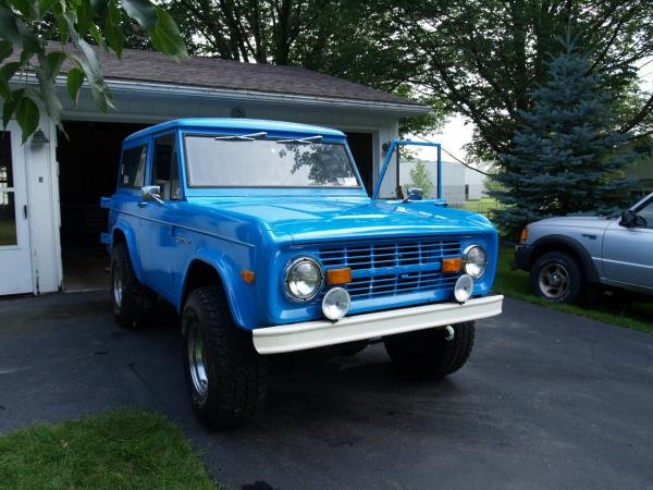 Showcase cover image for blue bronco