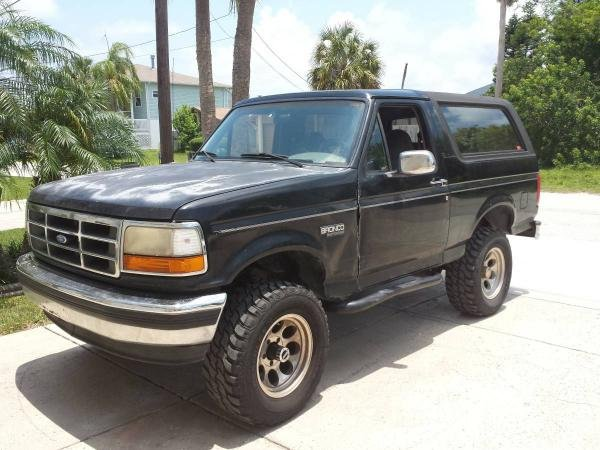 Showcase cover image for latvius's 1995 Ford Bronco XLT