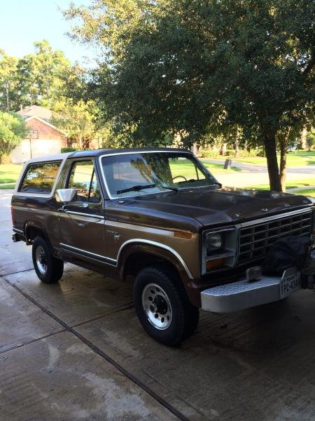Showcase cover image for rebrown2's 1981 Ford Bronco XLT