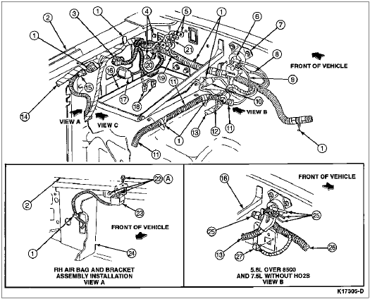 crown victoria wiring harness, ramcharger wiring harness, mustang wiring harness, on early bronco wiring harness forum