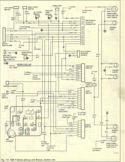 VSS. 2-wire vehicle speed sensor wiring diagram | Bronco Forum - Full Size  Ford Bronco ForumFull Size Bronco Forum