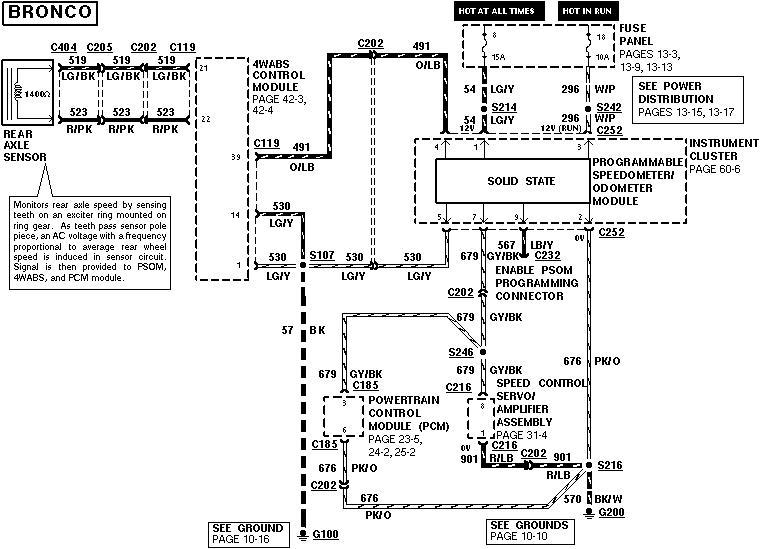 VSS. 2-wire vehicle speed sensor wiring diagram | Bronco Forum - Full Size  Ford Bronco Forum | Speed Sensor Wiring Diagram |  | Full Size Bronco Forum